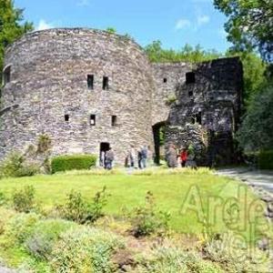 visite du chateau des comtes de Salm de Salmchateau