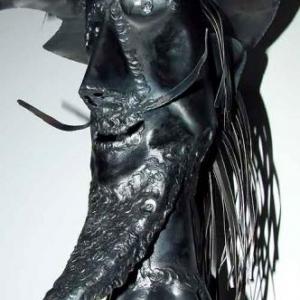 Don Quichotte de jean-Marie Collet, une sculpture belge pour une Ardenne plus culturelle.