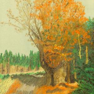 Peinture C. De Hoze 1987 (Coll. pr.)
