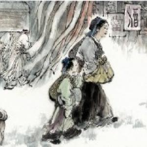 Centre culturel de Chine. Mencius-maman