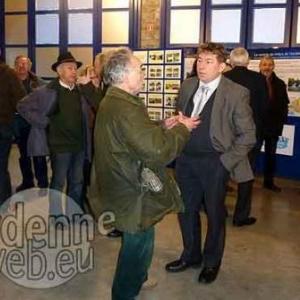 Roland Heyen (Patrimoine Nature et membre fondateur du CRA), Julien de Leval (Commission Royale des Monuments, Sites et Fouilles), Alain Delchef (Secretaire general de Qualite Village Wallonie)