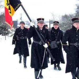 5574-Bihain Marche de la 83eme Division d Infanterie