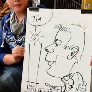 caricature JUMATT-7005