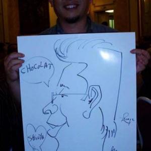 Caricature, chercheur,bruxelles, 30030
