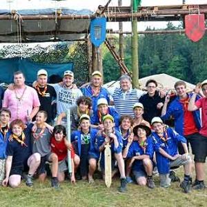 scout de la 6eme Ourthe-Ambleve de Tilff