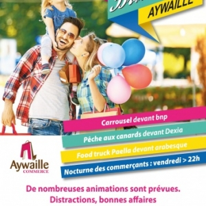 La Braderie d'Aywaille 2017