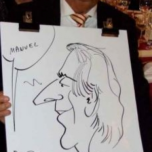 Caricatures pour les 60 ans de Henri ROEMER - photo 8626