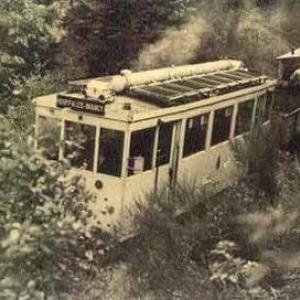 Le tram vicinal Houffalize - Bourcy