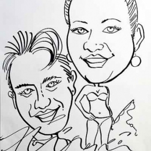 Caricature mariage-4495