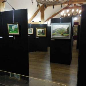 Exposition au Musee du Chateau Fort de Logne