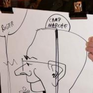 caricature NISSAN Marche - 5828