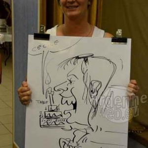 Caricature Roger- 2768