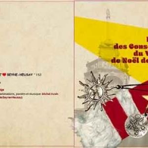 pochette CD hymne du village de NOEL de LIEGE 2015