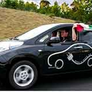 Le rallye europeen E-Mobility