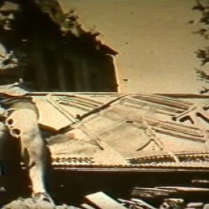Octavie Daulne en 1945