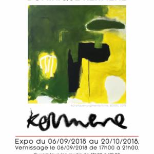 Dominique Kermene, Artiste Parisienne peintre et graveuse