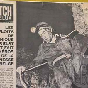Dominique Van der Elst dans les Grottes