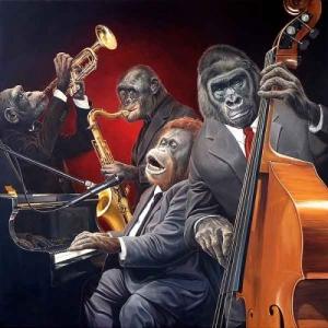 Monkeys Jazz Band Quartet d'Olivier Claudon