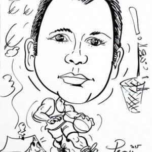 caricature JUMATT, la maison a ossature bois