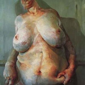 peinture de Lucian Freud