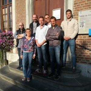 2,  Spa Commerce: Jonathan Quoilin, Natalie Brock, Christian Lejeune, Michaël Moineau, Alain Krickel, Jean-Christophe Ernon