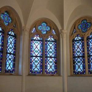 Les vitraux de la chapelle