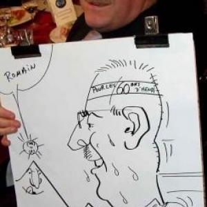 Caricatures pour les 60 ans de Henri ROEMER - photo 8621