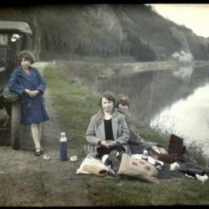 une autochrome photo env. 1920-1930.