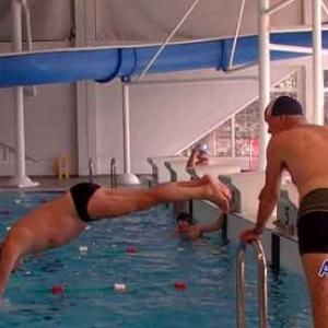Le swimmarathon du Lions Club-video
