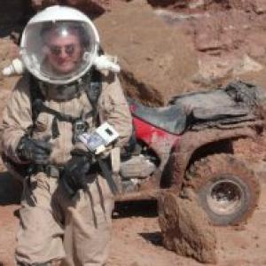 Belge en simulation sur Mars, 4A6