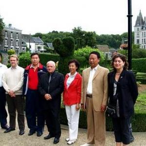 Délégation chinoise accueillie au Parc des Topiaires