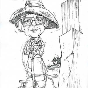 caricature de NAJA par Olivier Claudon