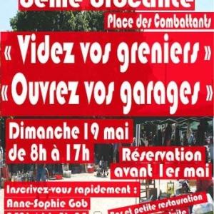 Ouvrez vos garages, videz vos greniers 19 mai Louveigne