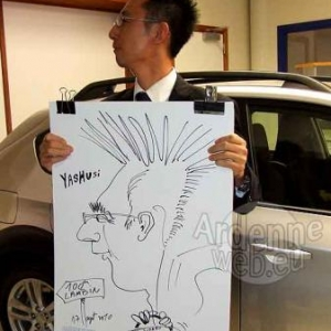100 ans du garage Lambin-caricature-6549