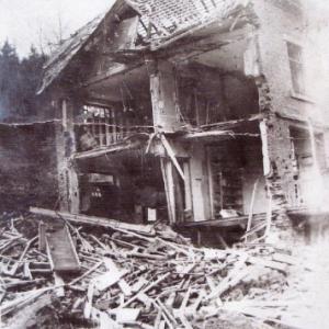 Houffalize 1944 1945  route de Bastogne
