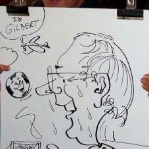 Caricatures pour les 60 ans de Henri ROEMER - photo 8616