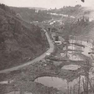 Houffalize 1944 1945  route de Laroche