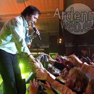 1000 fans à Jamoigne pour le concert de Frank Michaël