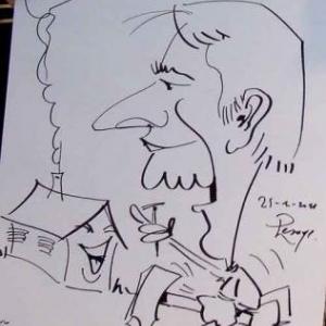 ING - caricature 8173