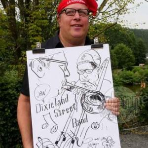 caricature minute Grande Choufferie Achouffe