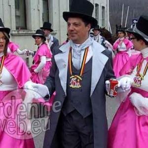 Christian 1er est le prince carnaval 2009 de Martelange