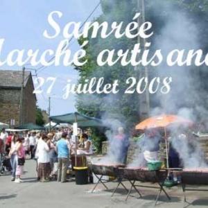 Marché artisanal de Samrée