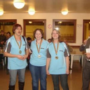 equipe A dames du TT Arbrefontaine
