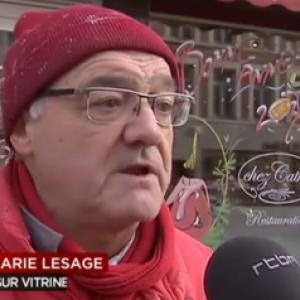 Belgique: RTBF du  jeudi 8 decembre 2016