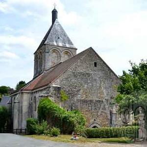 Eglise du Saint Greluchon de Saint Jallet
