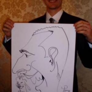 Caricature, chercheur,bruxelles, 30014