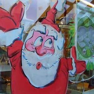Peinture sur vitrine pour Noel-7316