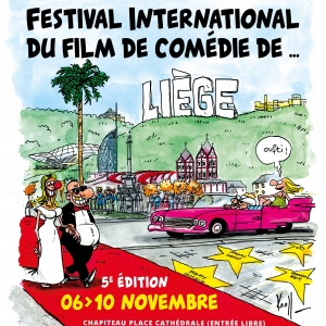 Festival International du Film de Comédie de Liège. Jour