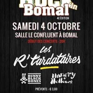 festival The Rock in Bomal - 4 octobre