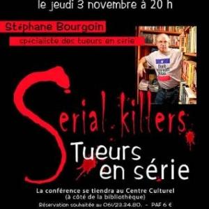 Stephane Bourgoin et le monde des Serial Killers